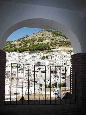 Photograph - Spanish Brick Architecture Iv Mijas Spain by John Shiron