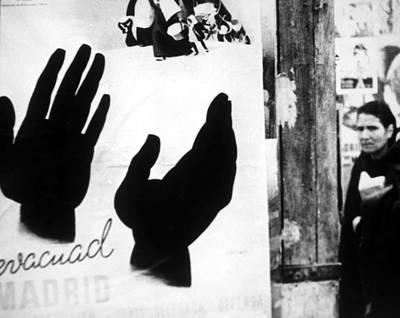 Spanish Civil War 1936-1939, Evacuate Art Print