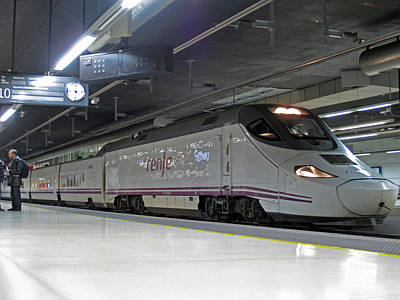 Photograph - Spanish High-speed Train by Rod Jones