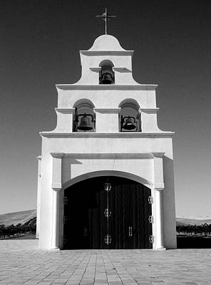 Photograph - Spanish Mission Front by Matt Hanson