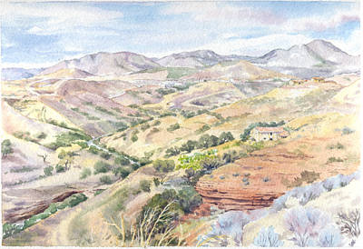 Painting - Spanish Sierra by Maureen Carter