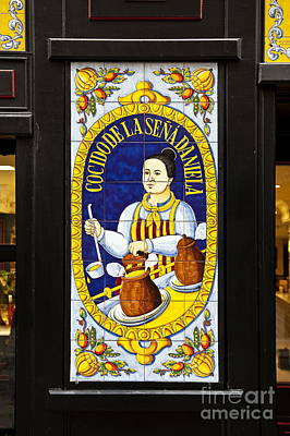 Taberna Photograph - Spanish Tiles by John Greim
