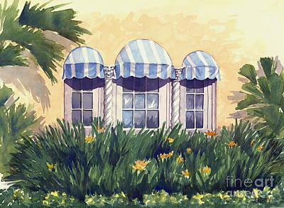 Painting - Spanish Windows by Audrey Peaty