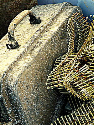 Scrap Metal Yard Photograph - Spare Ammo by Joe Jake Pratt