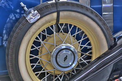Photograph - Spare Tire by Rich Franco