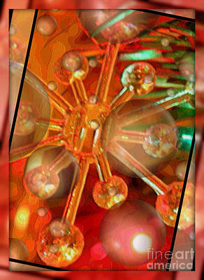 Sparkling Spirit Of Christmas Art Print