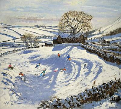 Sparrowpit Derbyshire Print by Andrew Macara