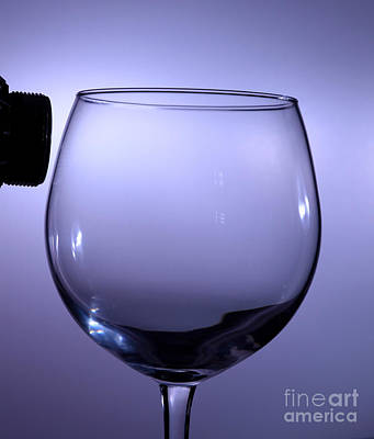 Acoustical Photograph - Speaker And A Glass by Ted Kinsman