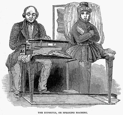 Speaking Machine, 1846 Art Print
