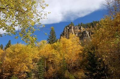 Photograph - Spearfish Canyon Fortress In Rock by Dakota Light Photography By Dakota