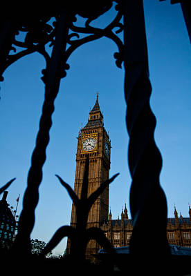 Photograph - Spearing Big Ben by Anthony Doudt