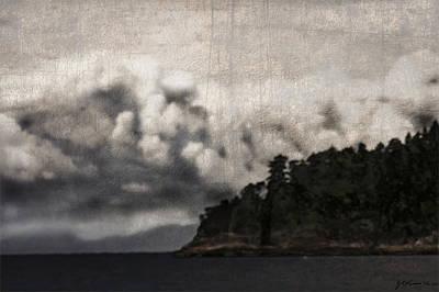 Special Cloud Print by Janet Kearns