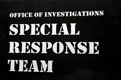 Photograph - Special Response Team by LeeAnn McLaneGoetz McLaneGoetzStudioLLCcom