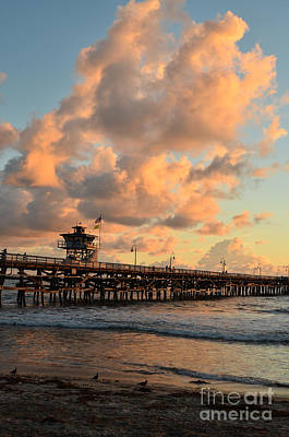 Spectacular San Clemente Clouds Art Print by Timothy OLeary