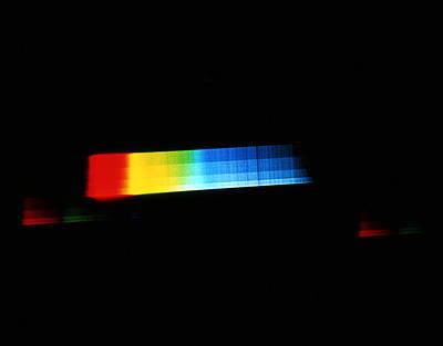 Spectrum Of A Star Art Print