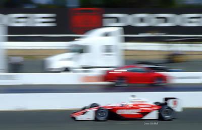 Photograph - Speeding Traffic by Donna Blackhall