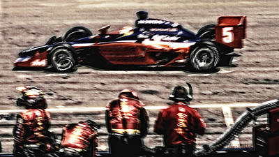 Photograph - Speedway by Donna Blackhall