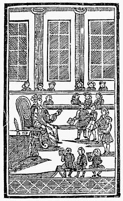 Spelling Book, 1763 Art Print by Granger