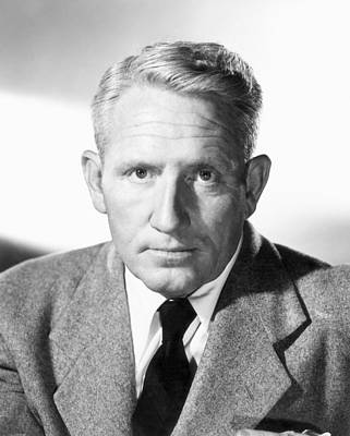Spencer Tracy Photograph - Spencer Tracy (1900-1967) by Granger