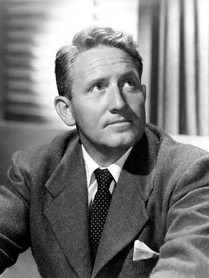 Spencer Tracy, Early 1940s Art Print by Everett
