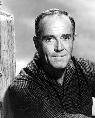 1963 Movies Photograph - Spencers Mountain, Henry Fonda, 1963 by Everett