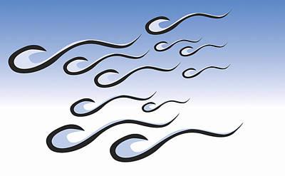 Sperm Cells Art Print by Pasieka