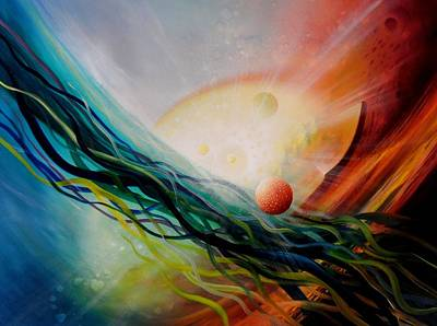 Sphere Gl2 Art Print by Drazen Pavlovic