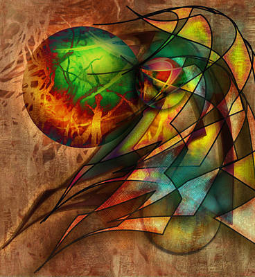 Sphere Of Influence Art Print by Monroe Snook