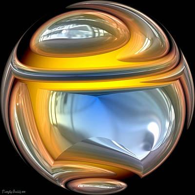 Sphere. Art Print by Tautvydas Davainis