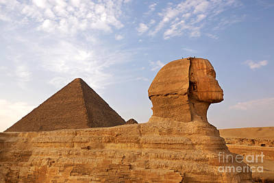 Great Mysteries Photograph - Sphinx Of Giza by Jane Rix