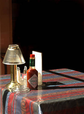 Tabasco Photograph - Spice Of Life by Greg and Chrystal Mimbs