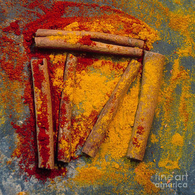 Inboard Photograph - Spices by Bernard Jaubert