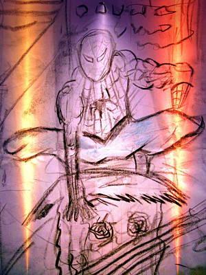 Spider 2 Art Print by Beto Machado