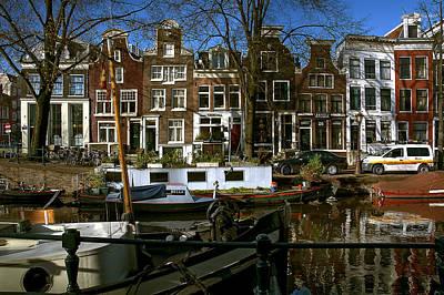 Photograph - Spiegelgracht 28. Amsterdam by Juan Carlos Ferro Duque