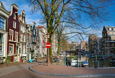 Photograph - Spiegelgracht 36. Amsterdam by Juan Carlos Ferro Duque