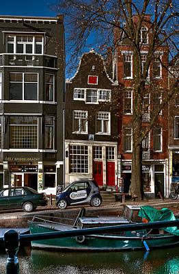 Photograph - Spiegelgracht 6. Amsterdam by Juan Carlos Ferro Duque