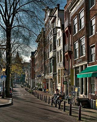 Photograph - Spiegelgracht Gallery. Amsterdam by Juan Carlos Ferro Duque