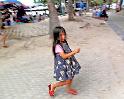 Photograph - Spinning Girl by Paul Rainwater