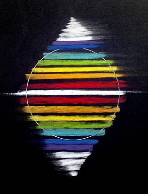 Spinning Merkaba Art Print