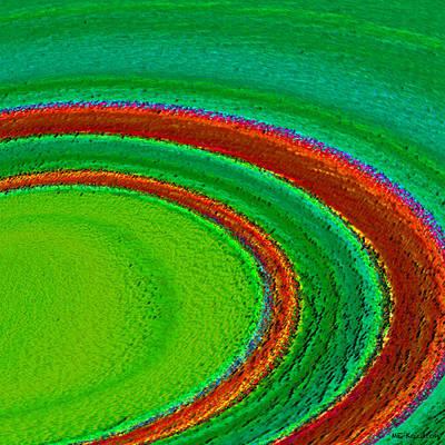 Burnt Digital Art - Spinster by ME Kozdron