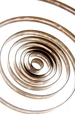 Cut Out Photograph - Spiral by Bernard Jaubert