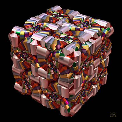 Digital Art - Spiral Box I by Manny Lorenzo