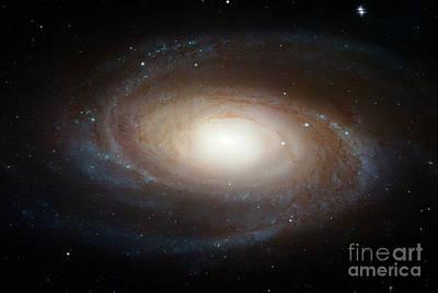 Spiral Galaxy M81 Art Print by Nasa