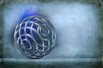 Ball Bounce Photograph - Spiral Mystery by Evelina Kremsdorf