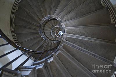 Spiral Staircase Photograph - Spiral Staircase by John Harper