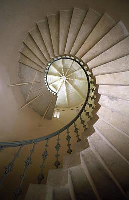 Spiral Stairs - Krakow Art Print by Martin Cameron