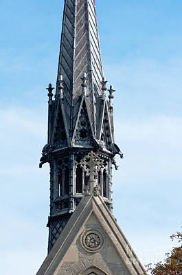 Oxford Photograph - Spire by Andrew  Michael
