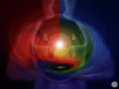 Luz Digital Art - Spirit Grounded by Carlos Reyes