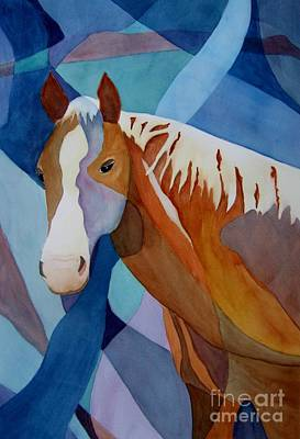 Painting - Spirit Horse by Vicki Brevell