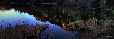 Photograph - Spirits Of Prescott Lake by Wayne King